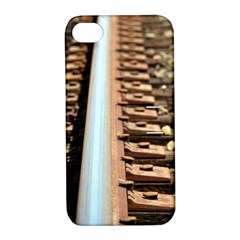 Train Track Apple iPhone 4/4S Hardshell Case with Stand