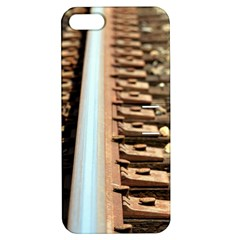 Train Track Apple Iphone 5 Hardshell Case With Stand