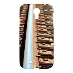 Train Track Samsung Galaxy S4 I9500 Hardshell Case