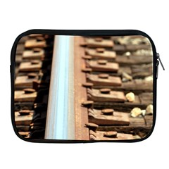 Train Track Apple Ipad 2/3/4 Zipper Case