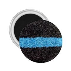 Black Blue Lawn 2.25  Button Magnet