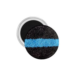Black Blue Lawn 1 75  Button Magnet