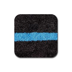 Black Blue Lawn Drink Coasters 4 Pack (Square)