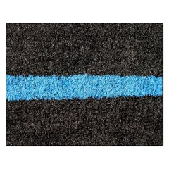 Black Blue Lawn Jigsaw Puzzle (Rectangle)