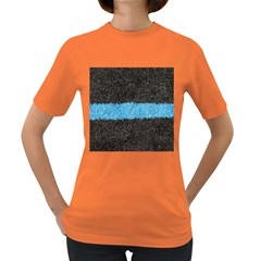Black Blue Lawn Womens' T-shirt (Colored)