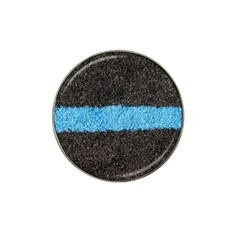 Black Blue Lawn Golf Ball Marker 4 Pack (for Hat Clip)