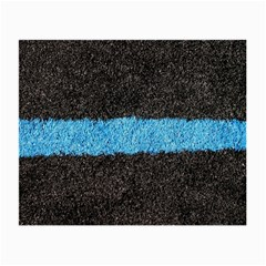 Black Blue Lawn Glasses Cloth (small, Two Sided)