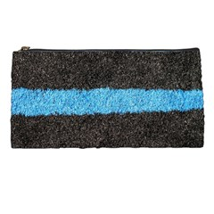 Black Blue Lawn Pencil Case