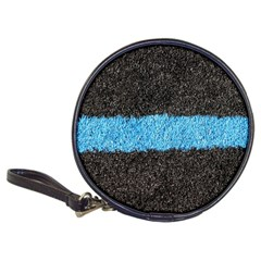 Black Blue Lawn CD Wallet