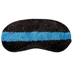 Black Blue Lawn Sleeping Mask
