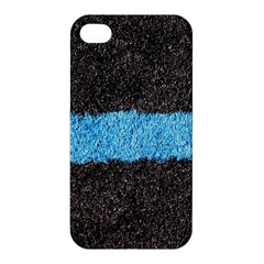 Black Blue Lawn Apple Iphone 4/4s Hardshell Case