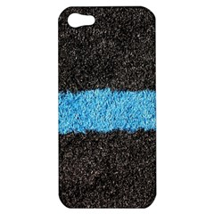 Black Blue Lawn Apple iPhone 5 Hardshell Case