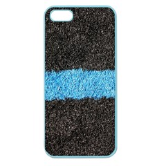 Black Blue Lawn Apple Seamless iPhone 5 Case (Color)