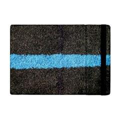 Black Blue Lawn Apple Ipad Mini Flip Case