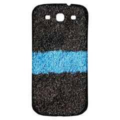 Black Blue Lawn Samsung Galaxy S3 S Iii Classic Hardshell Back Case