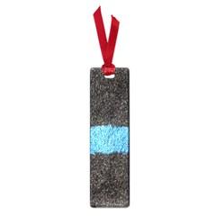 Black Blue Lawn Small Bookmark