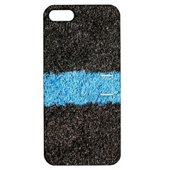Black Blue Lawn Apple Iphone 5 Hardshell Case With Stand