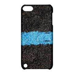Black Blue Lawn Apple iPod Touch 5 Hardshell Case with Stand