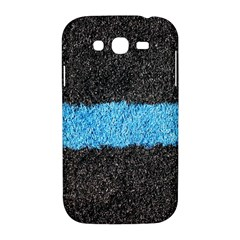 Black Blue Lawn Samsung Galaxy Grand DUOS I9082 Hardshell Case