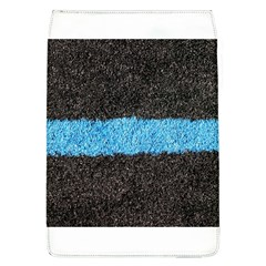 Black Blue Lawn Removable Flap Cover (large)