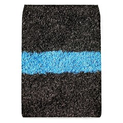 Black Blue Lawn Removable Flap Cover (Small)
