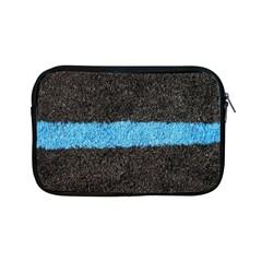 Black Blue Lawn Apple iPad Mini Zipper Case