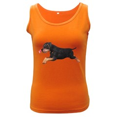Puppy 1 Womens  Tank Top (Dark Colored)