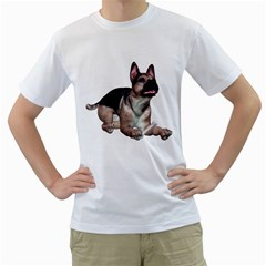 Puppy 2 Mens  T Shirt (white)