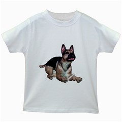 Puppy 2 Kids' T Shirt (white)