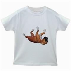 Puppy 3 Kids' T-shirt (White)