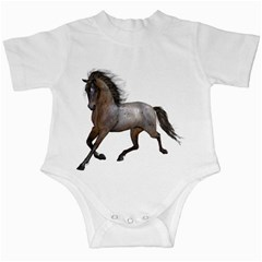Brown Horse 2 Infant Creeper
