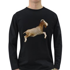 Goat 1 Mens' Long Sleeve T-shirt (Dark Colored)