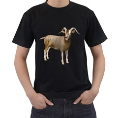 Goat 2 Mens' Two Sided T-shirt (Black)
