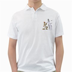 Wedding Couple 1 Mens  Polo Shirt (white)