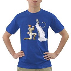 Wedding Couple 1 Mens' T Shirt (colored)