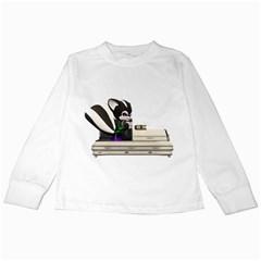Vampire 2 Kids Long Sleeve T-Shirt