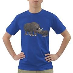Rhino 1 Mens' T-shirt (Colored)