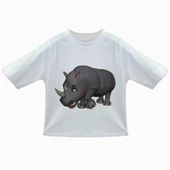 Rhino 2 Baby T-shirt