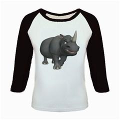 Rhino 3 Women s Long Cap Sleeve T-Shirt