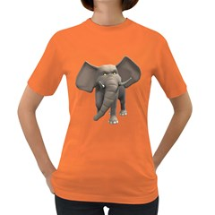 Elephant 1 Womens' T-shirt (Colored)