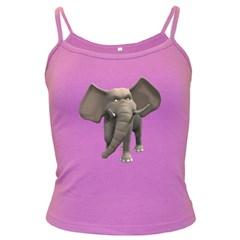 Elephant 1 Spaghetti Top (Colored)