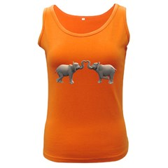 Elephant 4 Womens  Tank Top (dark Colored)