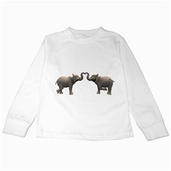 Elephant 4 Kids Long Sleeve T Shirt