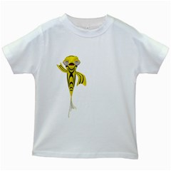 Fish 1 Kids' T Shirt (white)