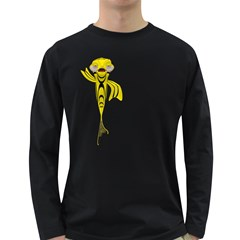 Fish 1 Mens' Long Sleeve T-shirt (Dark Colored)