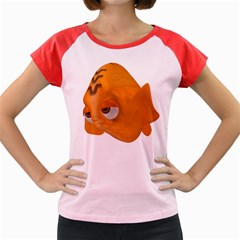 Fish 2 Women s Cap Sleeve T-Shirt (Colored)