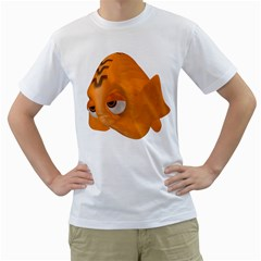 Fish 2 Mens  T Shirt (white)