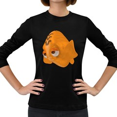 Fish 2 Womens' Long Sleeve T Shirt (dark Colored)