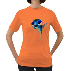 Fish 3 Womens' T-shirt (Colored)