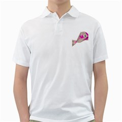Fish 4 Mens  Polo Shirt (white)
